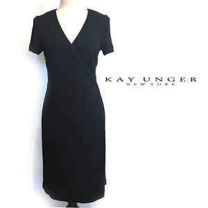 Kay Unger Little Black Dress Cocktail Dress